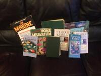 Aquarium and marine books