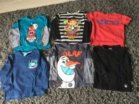 18-24 mths boys long sleeved cotton tops