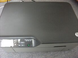 HP Deskjet all-in-one printer, also scans and copies