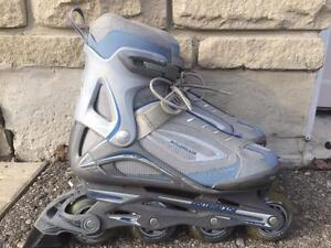Like NEW Rollerblade Inline Skates Fitness Boot 76mm/80A Women's Size 10