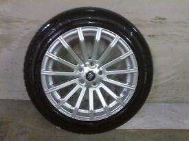 ALLOYS X 4 OF 19 INCH GENUINE RANGEROVER/DISCOVERY FULLY POWDERCOATED INA STUNNING DUTCH/SILVER/NICE