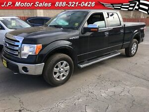 2013 Ford F-150 Lariat, Crew Cab, LEATHER, Navigation, Back Up C