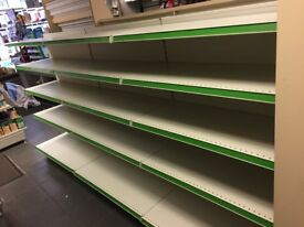 Shelving Gondolas and Wall,Card Units Bought all Brand New Excelent Condition,ANY REASONABBLE OFFERS