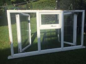 UPVC white windows with sills
