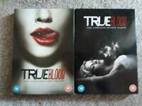 True blood season 1 and 2 on DVD