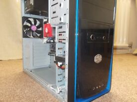gaming PC with keyboard and mouse