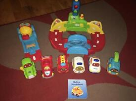 Vetch toot toot cars and track