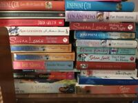 BOOKS & NOVELS HOLIDAY READ JOSEPHINE COX, SUSAN LEWIS, MAEVE BINCHY, LYN ANDREWS COOKSON ETC