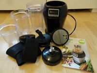 NUTRI NINJA Professional Blender 900W BL 470 UK USED BLACK