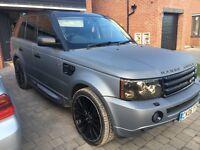 Range Rover sport Matt grey