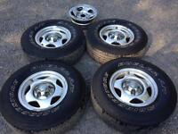 Rims and tires for Dodge Ram 1500 94-2001