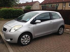One litre Toyota Yaris t3 for sale