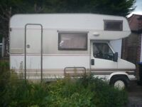 Campervan, good condition, belted seating for 3,overcab bed, large jigsaw bed, Fiat Ducatto chassis