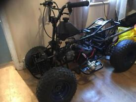 110cc quad nearly finished project.
