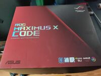 Asus ROG Maximus X Code Z370 Motherboard Boxed with Accessories
