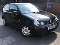 2005 VOLKSWAGEN VW POLO 1.2 * 3 DOOR * IDEAL FIRST CAR * CHEAP INSURANCE *MOT * DELIVERY * PX