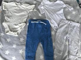 C 6-9 months joggers bundle