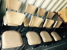 Retro chairs x8