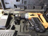 24 volt JCB Cordless Drill