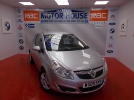 Vauxhall Corsa ACTIVE(LOW MILEAGE)FREE MOT'S AS LONG AS YOU OWN THE CAR!!! (silver) 2009