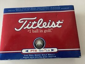 12 TITLEIST GOLF BALLS