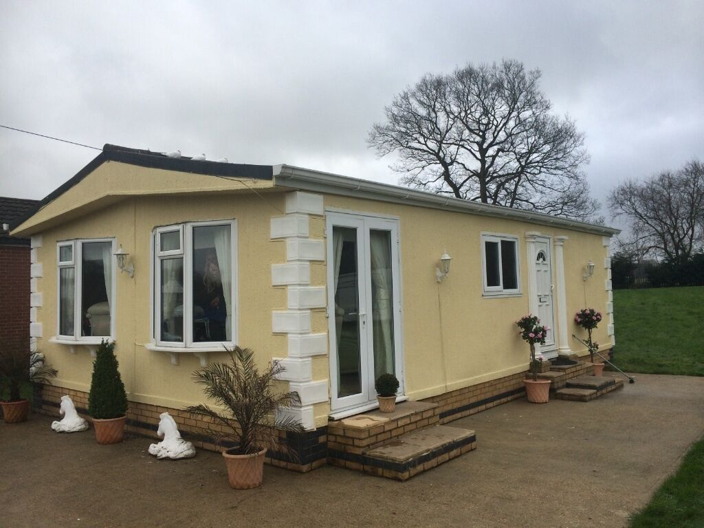 Mobile home chalet 35x20 twin unit for sale in for Mobil chalet