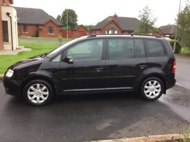 06 VOLKSWAGEN TOURAN 1.9 TDI SE FULL MOT 7 SEATER P/EX WELCOME