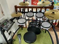 Roland V Drums drum kit upgraded great condition