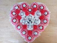 Chocolate Heart shape Valentine Lovers gift