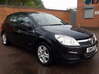 2010 VAUXHALL ASTRA 1.4 1 OWNER FULL SERVICE HISTORY BLACK A3 VW GOLF POLO CORSA