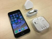 Space Grey iPhone 6 16GB On Vodafone / Lebara Networks Mobile Phone + Warranty