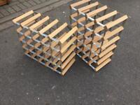 Wine racks x2