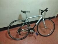 FULLY SERVICED Men Women Lightweight DECATHLON SPEED 2 Hybrid City Road Racer Bicycle + Receipt