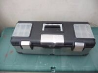FORGE STEEL 26IN STAINLESS STEEL TOOL BOX