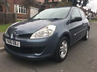 2006 Renault Clio 1.2 Extreme, 3 door, Low Mileage, FSH, MOT Sept, HPi Clear