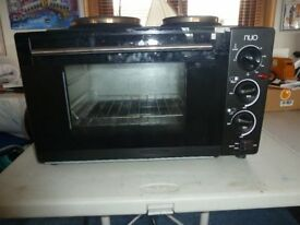 electic oven hob camping or home nuo