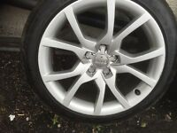 Audi A5 18 inch wheels and tyres