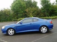 Hyundai Coupe 2.0 Se. 72000 Miles. Full Mot. Extensive Service History. Cambelt & Clutch Replaced.