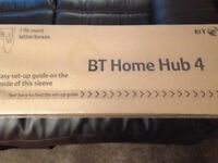 Brand new boxed BT home hub 4