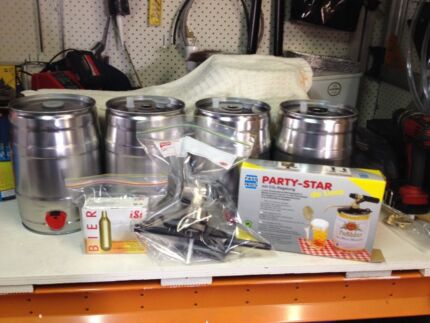 Mini Keg Party Star Delux Kit - Beer - Home brew Nudgee Brisbane North East Preview