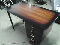 Vintage 1960s table    and desk  both for 100.00