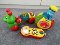 3 baby/toddler vtech toys
