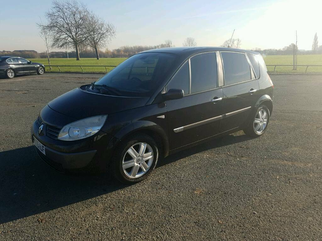 Renault Megane Scenic automatic with new MOT part exchange clearance