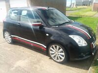 Suzuki Swift 1.6 vvt sport 2011 31500miles black