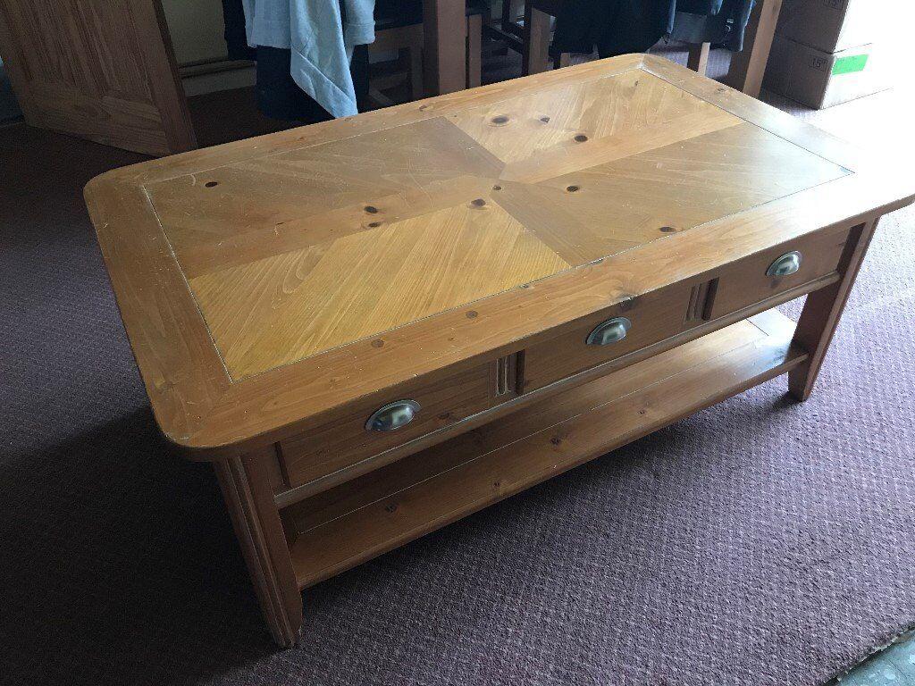 Free Large Pine Coffee Table