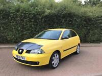 2006 SEAT IBIZA SX 1.4 MANUAL PETROL