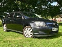 2008 TOYOTA AVENSIS 2.2 DIESEL D-4D ** LOW MILES ** PRIVACY GLASS
