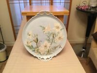 Antique Limoges serving platter