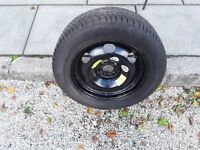 "16"" steel spare wheel and tyre for Citroen C4 Picasso."