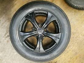 Oxigin Style 5 spoke alloys black